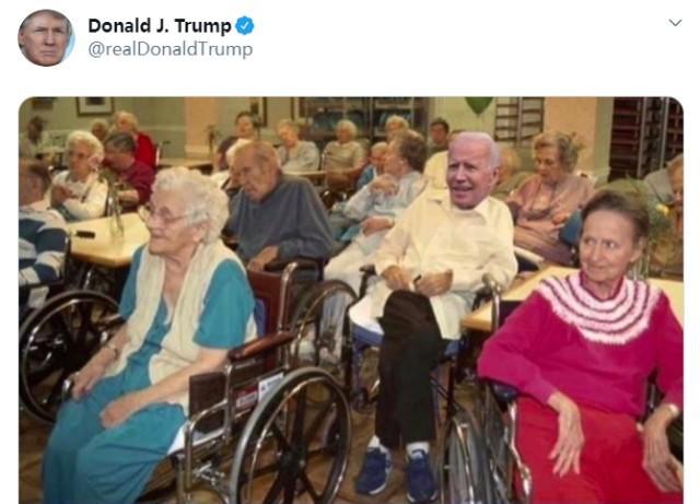 """拜登""""吓坏""""了佛罗里达州的老人:你是特朗普的""""牺牲品""""  第2张"""