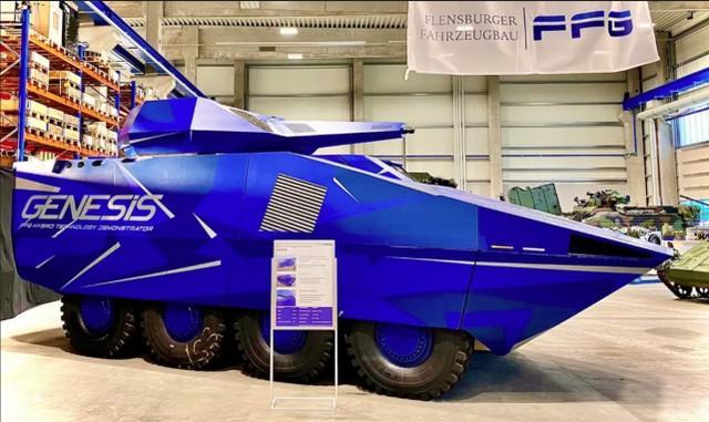这就是未来的装甲车?德国电步战揭开序幕,时速高达100公里  第1张