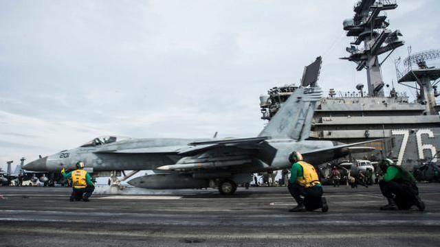 """""""里根""""号航母战斗群重返南海,美军称这是今年第三次  第1张"""