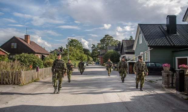 对抗俄罗斯!瑞典宣布将军费增加40%,征兵数量翻倍  第2张
