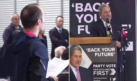 新西兰副总理:你来错地方了,这里不是美国!