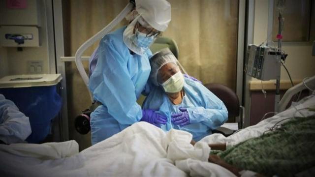 """美国媒体:美国只有3例新发病例在减少,疫情将迎来新的""""高峰""""  第2张"""