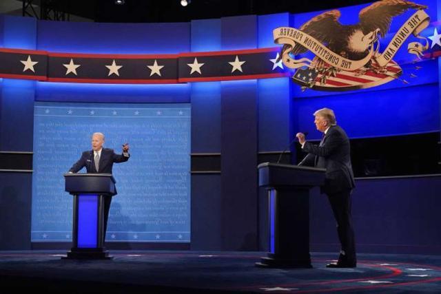 """美国媒体:美国总统大选第三场辩论,对手在回答时会""""沉默""""  第1张"""