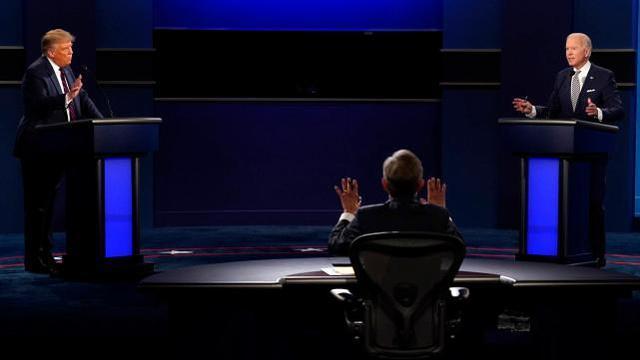 """美国媒体:美国总统大选第三场辩论,对手在回答时会""""沉默""""  第2张"""