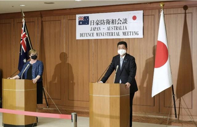 在保护了美国之后,日本宣布自卫队将保护澳大利亚的军事资产  第1张