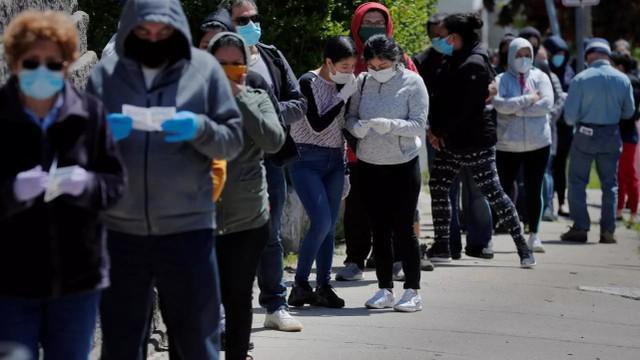 英国媒体:美国疫情援助资金枯竭,新增800万贫困人口