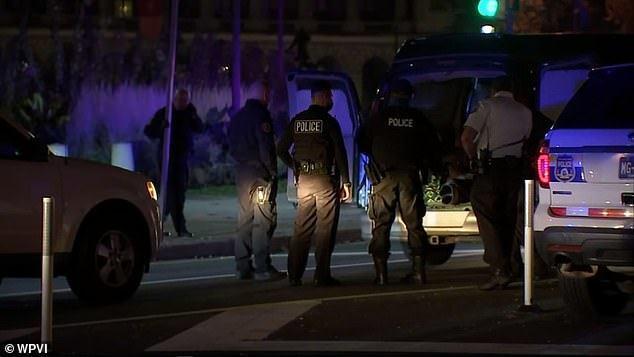 费城暴力抗议的现场被装载炸药的卡车震惊了,炸弹处理小组已经展开调查  第2张