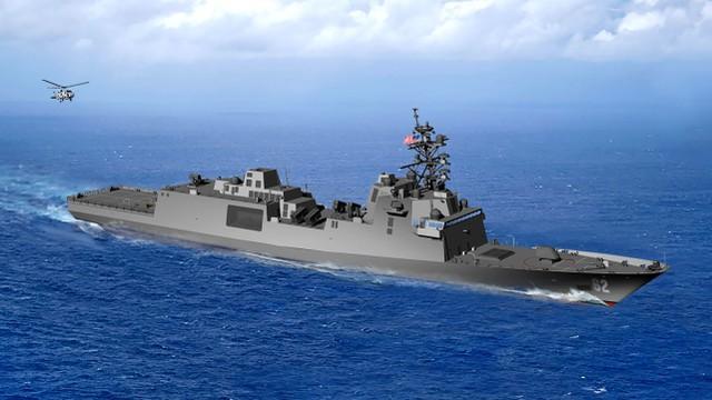 美国新护卫舰有多强?比054A大一圈,性能几乎等于毁灭者  第2张