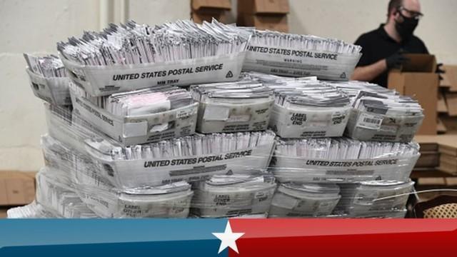 """北卡罗来纳州仍有117,000张邮寄选票等待处理,选举委员会拒绝""""预测""""  第1张"""