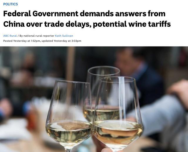 澳大利亚缠着中国谈论贸易问题  第1张