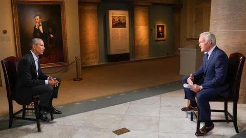 """奥巴马:""""美国的对手看到我们变弱了。""""  第1张"""