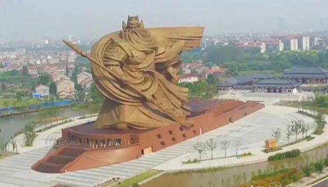 尴尬的关公雕像被命名为。  第1张