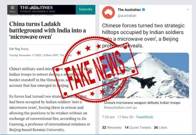 解放军在边境用微波武器击退印度军队,夺回山区?印度军方回应:假新闻。  第3张