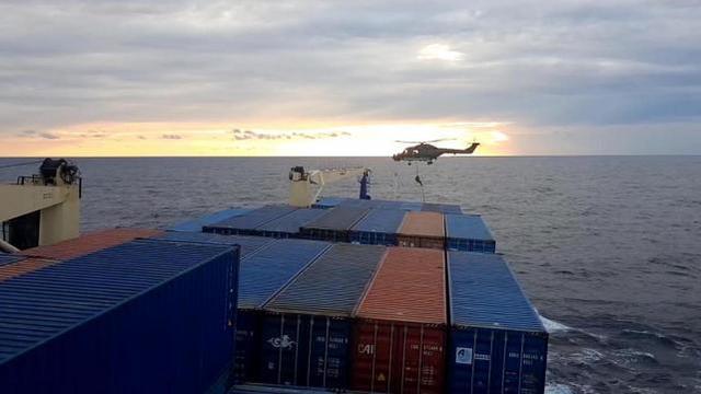 德国军舰被迫登上货轮,欧盟制裁将于下月到来?火鸡生气了!