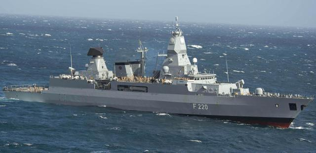 德国军舰被迫登上货轮,欧盟制裁将于下月到来?火鸡生气了!  第3张