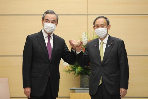 王毅在东京谈钓鱼岛。  第2张