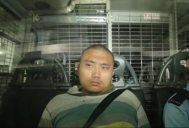 """""""王展画家""""因向香港警察总部扔鸡蛋被判入狱21个月。  第2张"""
