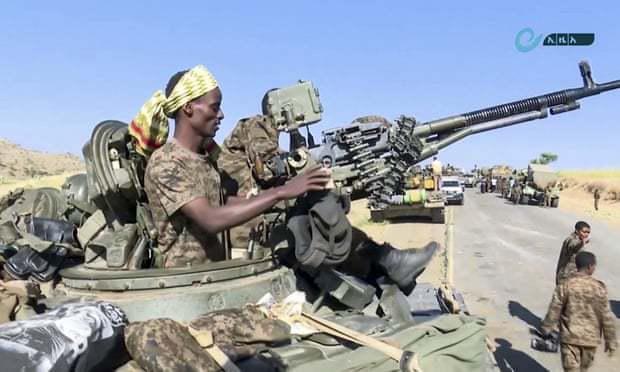 """最后通牒到期,埃塞俄比亚军队将对首都提格雷发动""""最后攻势"""""""