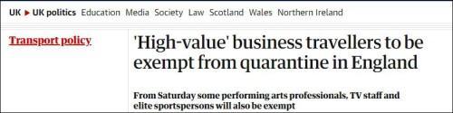英国公开宣称:就我而言,富人可以为所欲为。