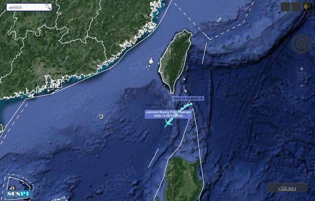 24小时内,美军4架P-8A进入南海,怀疑两栖攻击舰处于警戒状态。  第5张