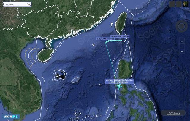 24小时内,美军4架P-8A进入南海,怀疑两栖攻击舰处于警戒状态。  第2张