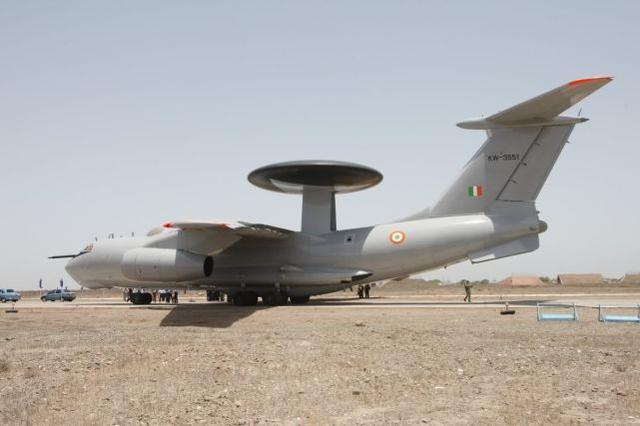"""印度媒体:为了监视中巴边境地区,印度将""""建造""""六架新的预警飞机。  第1张"""