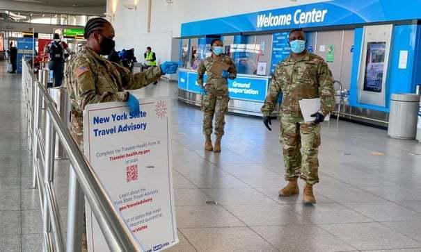 防死?纽约市下令强制隔离所有来自英国的乘客。  第2张