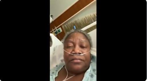 """""""黑人就这样被杀了。""""非裔美国医生说,他们在新冠肺炎去世前受到虐待。  第2张"""