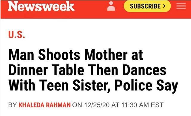 平安夜前夕,他枪杀了母亲,开始和妹妹跳舞……  第1张