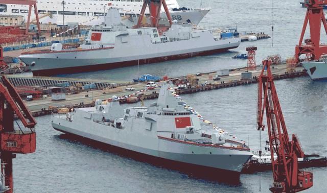 继续超过高峰?美国媒体:中国海军十四五造舰计划史上规模最大。  第1张