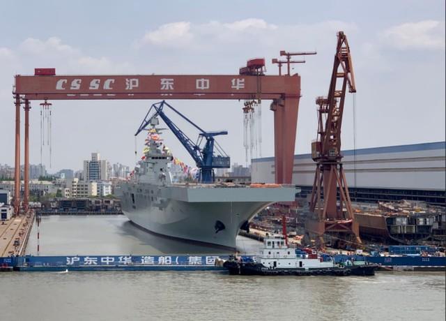 继续超过高峰?美国媒体:中国海军十四五造舰计划史上规模最大。  第2张