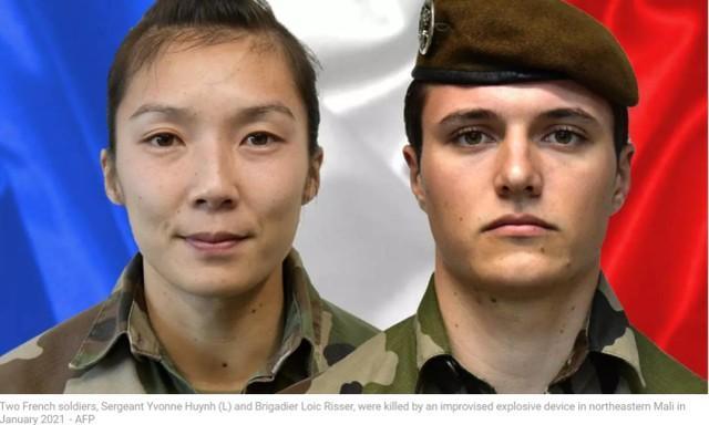 法军女兵在非洲遭到袭击死亡,惊动了马克龙。  第1张