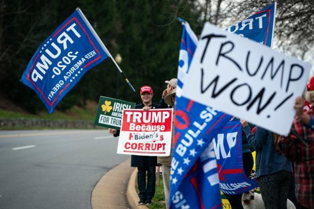 特朗普支持者挑战选举结果,华盛顿发出禁枪令,国民警卫出动。  第2张