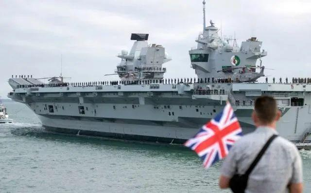 航母来到南海之前,英国人首先有罪。  第1张