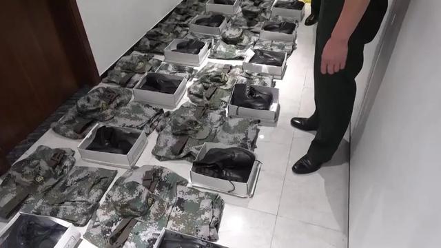 一个短片,牵出非法制售军服大案…  第3张