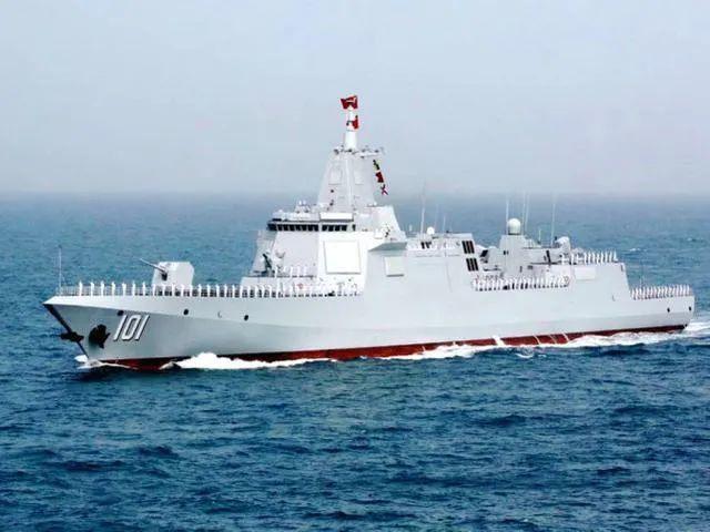 中国第一艘万吨级驱逐舰去日本海训练。专家:不值得惊讶。